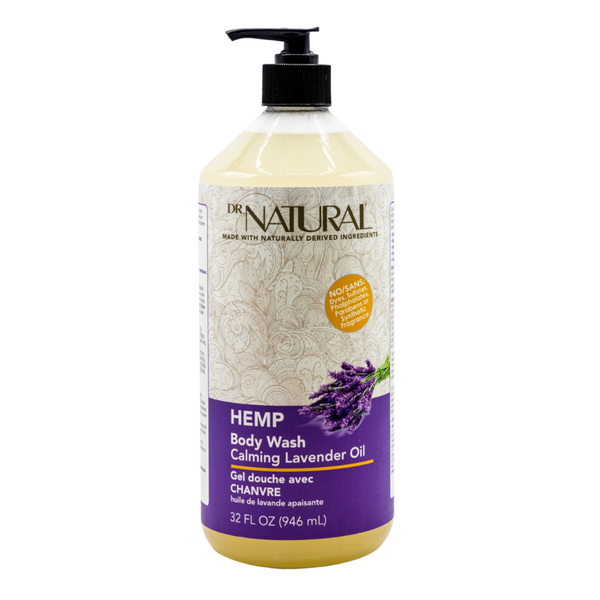 Hemp Body Wash Lavender