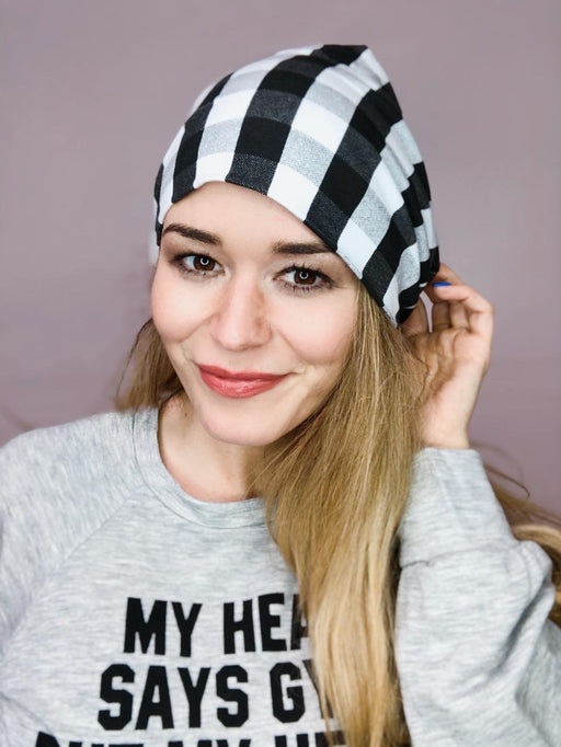 Mono Buffalo Plaid Beanie