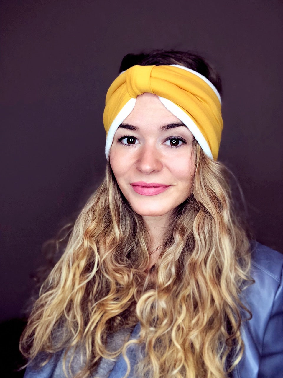 Mustard Yellow Ear Warmer Peace Bands - Pieces To Peaces
