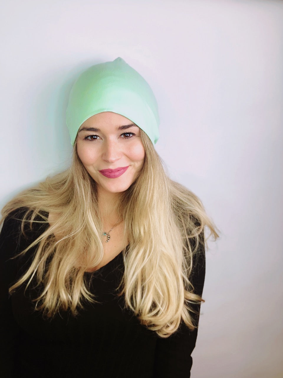 Mint Slouch Beanie Slouch Beanies - Pieces To Peaces