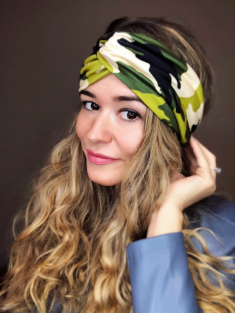 Forest Camo Turban Headband Turban Headband - Pieces To Peaces