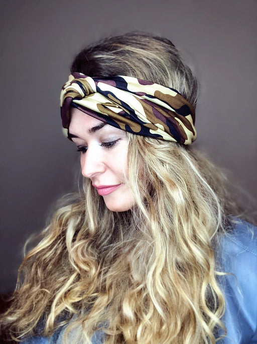 Desert Camo Turban Headband Turban Headband - Pieces To Peaces
