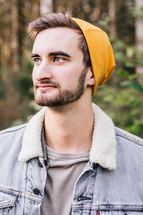 Mustard Slouch Beanie Slouch Beanies - Pieces To Peaces