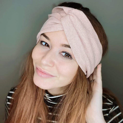 Rose Gold Turban Headband