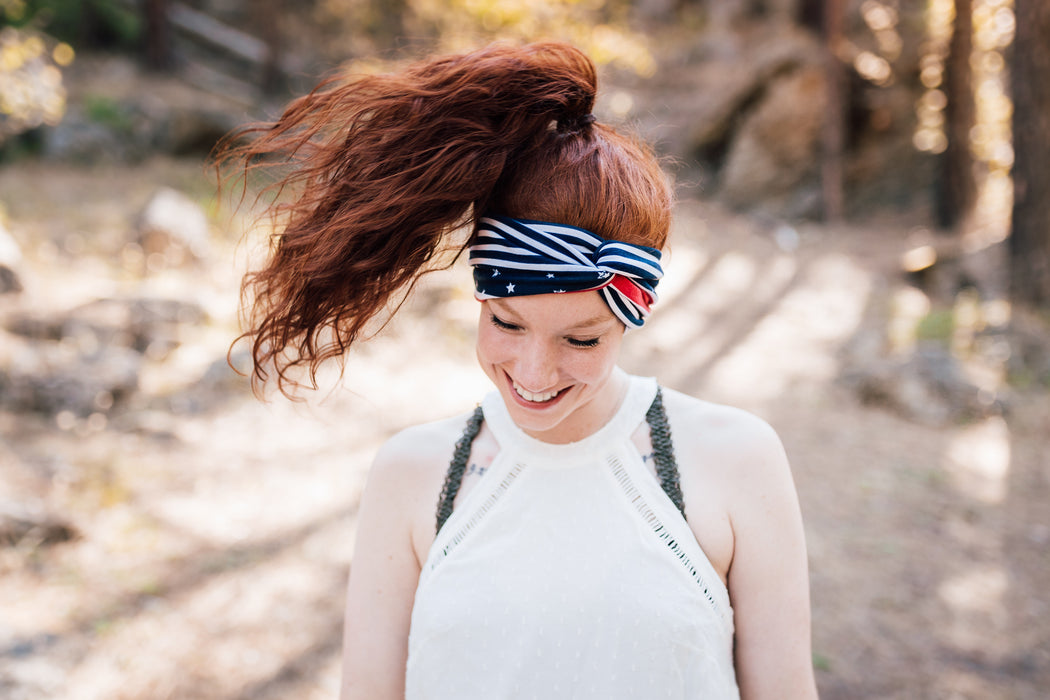Vintage American Turban Headband Turban Headband - Pieces To Peaces
