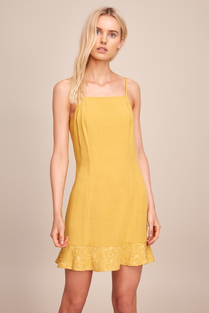 THE FIFTH LABEL - CASTOR DRESS MUSTARD 33483