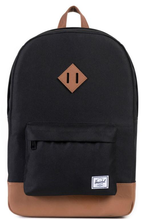 HERSCHEL - HERITAGE BACKPACK BLACK/TAN 20192