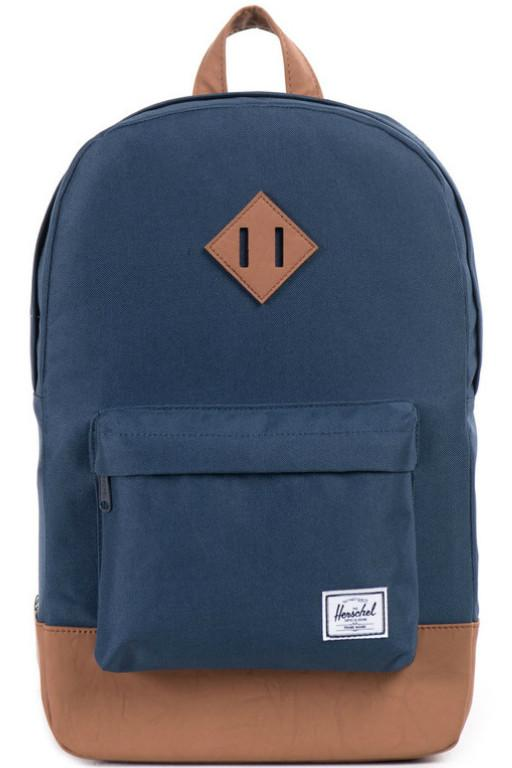 HERSCHEL - HERITAGE BACKPACK NAVY/TAN 20192
