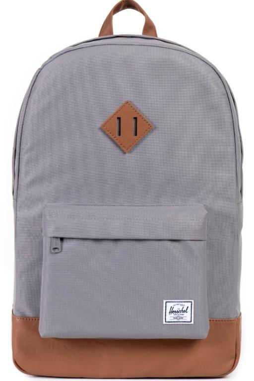 ac8b9a47332 HERSCHEL - HERITAGE BACKPACK GREY 20192 – Transit Clothing