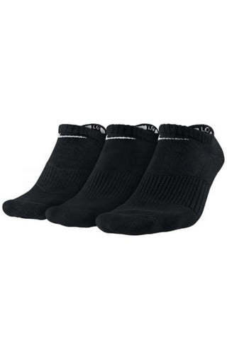 NIKE - NO-SHOW SOCKS 3 PACK BLACK 27468