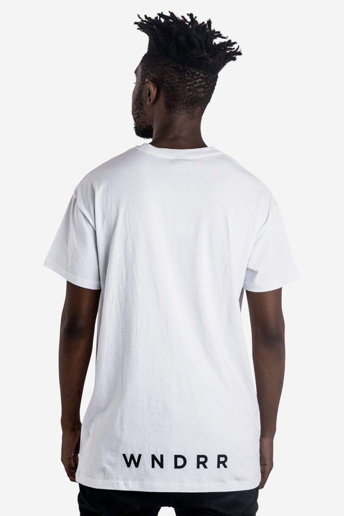 WNDRR - SHUTTLE CUSTOM FIT TEE WHITE 33762