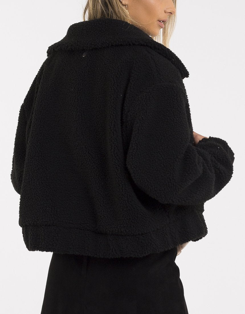 ALL ABOUT EVE - CAREY JACKET BLACK 34920