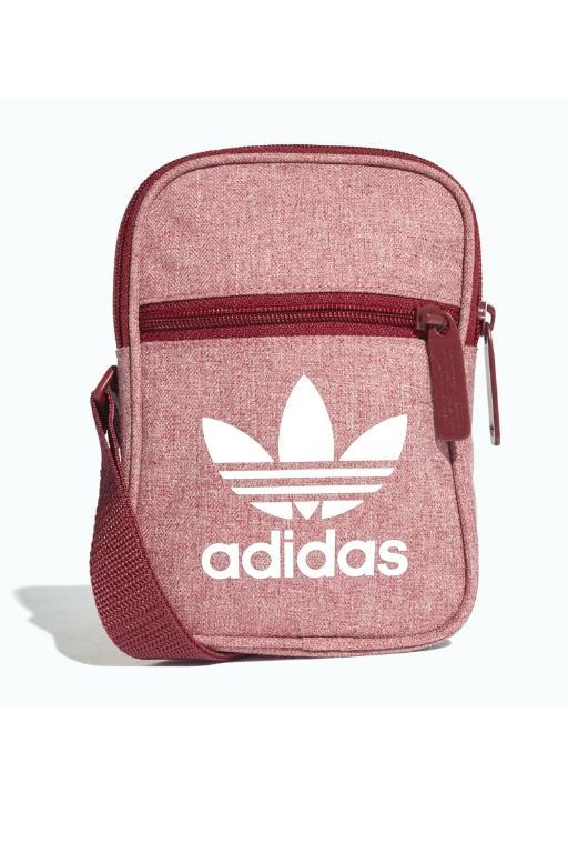 ADIDAS - FESTIVAL BAG CASUAL CBURGUNDY/WHITE 30657