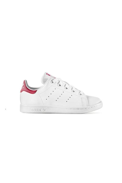ADIDAS - STAN SMITH CHILDREN WHITE/PINK 33092