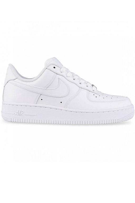 NIKE - WOMENS AIR FORCE 1 (07) WHITE/WHITE 10804