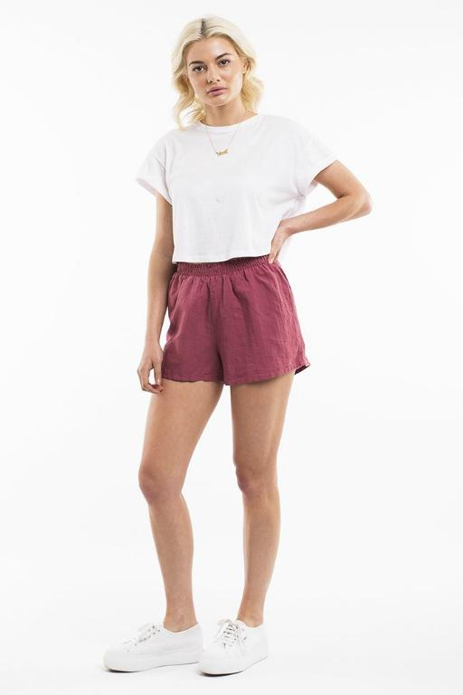 ALL ABOUT EVE - AMARA SHORT BURGUNDY 34782