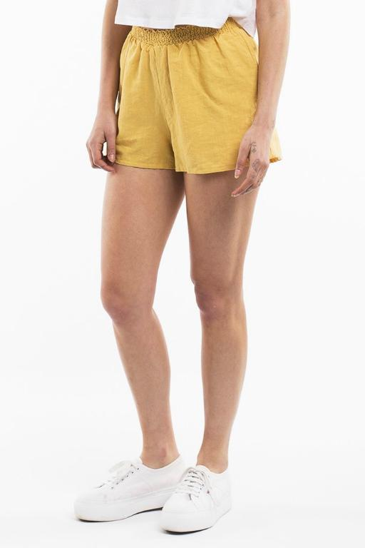 ALL ABOUT EVE - AMARA SHORT YELLOW 34782