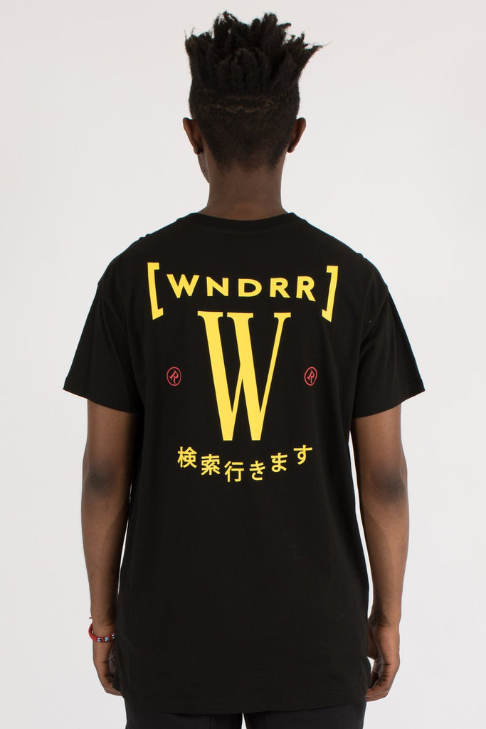 WNDRR - BYPASS CUSTOM FIT TEE BLACK 34292