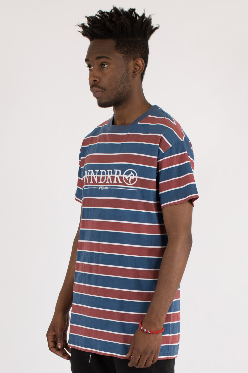 WNDRR - EQUIPPED STRIPE CUSTOM FIT TEE 34293