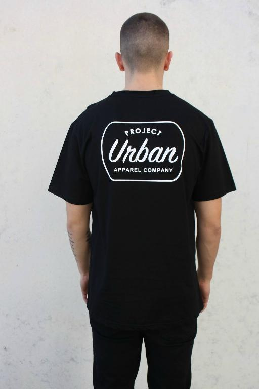PROJECT URBAN - BLAKE TEE BLACK 32538