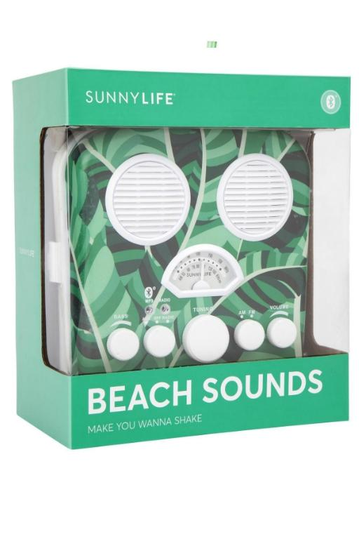 SUNNYLIFE - BEACH SOUNDS BANANA PALM 32498