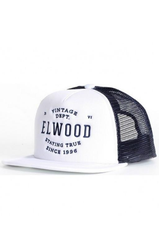 ELWOOD - SAY TRUE TRUCKER HAT WHITE 29694
