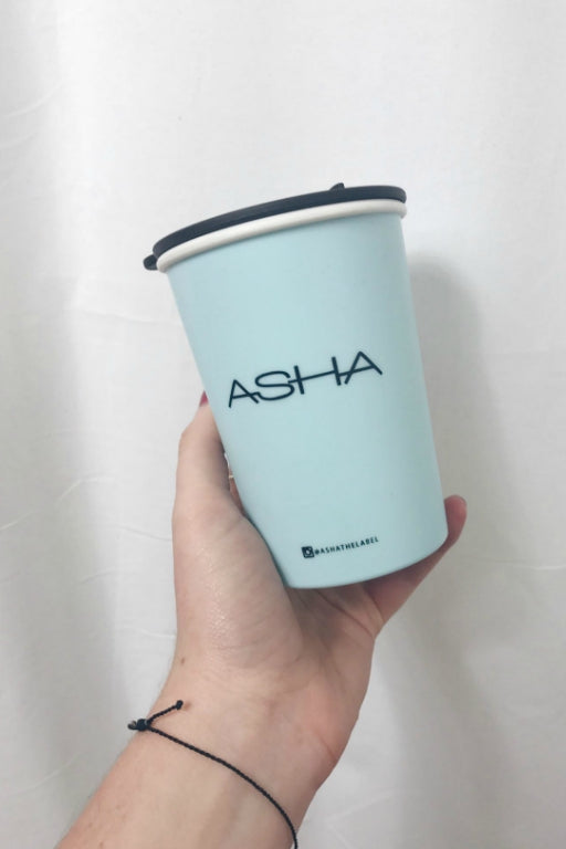 ASHA THE LABEL THERMAL MUG BLUE 33806