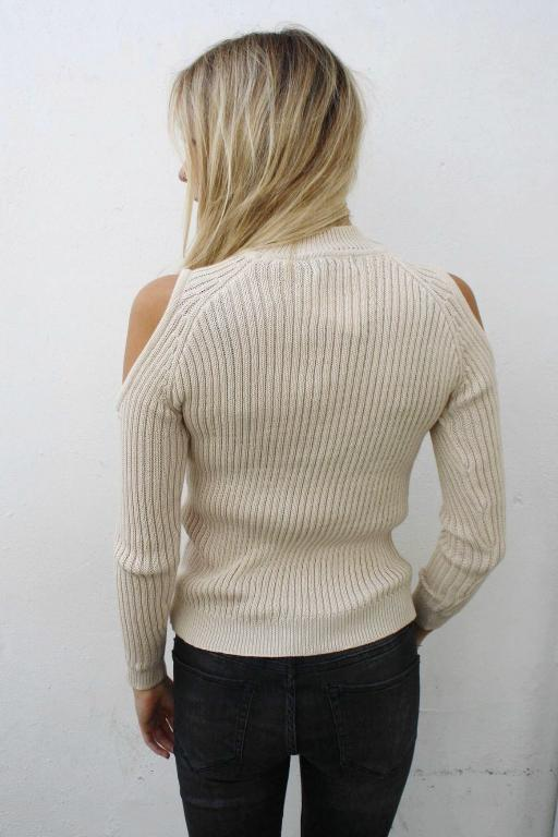 ASHA - ELYSE KNIT CREAM 33081