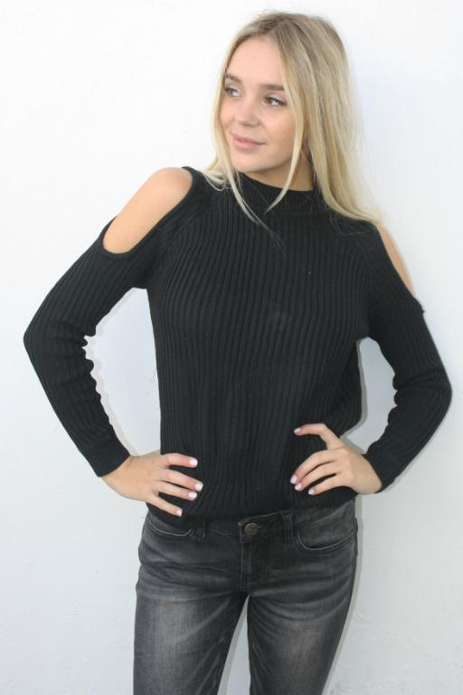 ASHA - ELYSE KNIT BLACK 33081