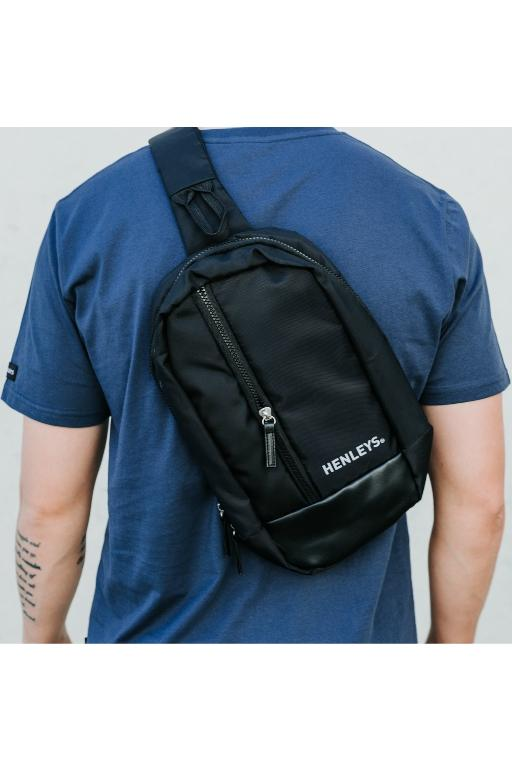 HENLEYS - KELVIN BAG BLACK 33663