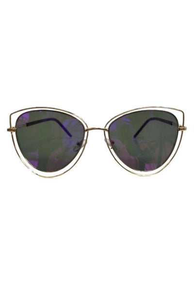 ASHA - HIDDEN VALLEY SUNGLASSES PURPLE 32435