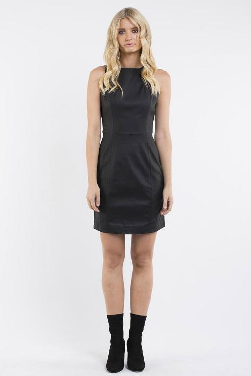 JORGE - LUNA DRESS BLACK 32809