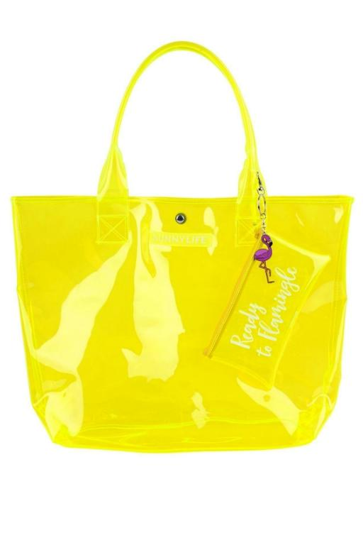 SUNNYLIFE - MARKET BAG NEON YELLOW 32489