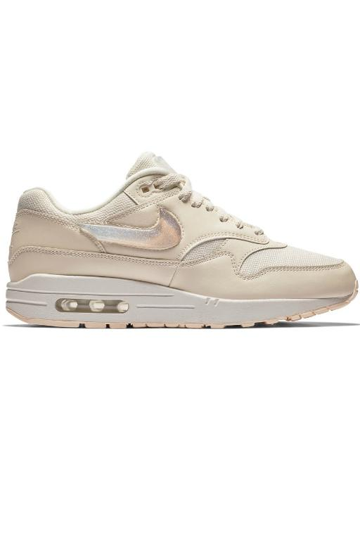 NIKE - WOMENS AIR MAX 1 JP PALE IVORY/SUMMIT WHITE 34141