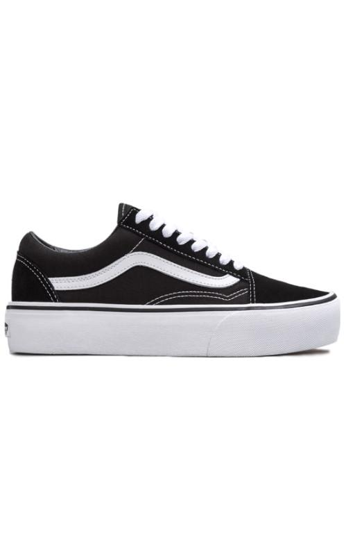 VANS - OLD SKOOL PLATFORM BLACK/WHITE 32798