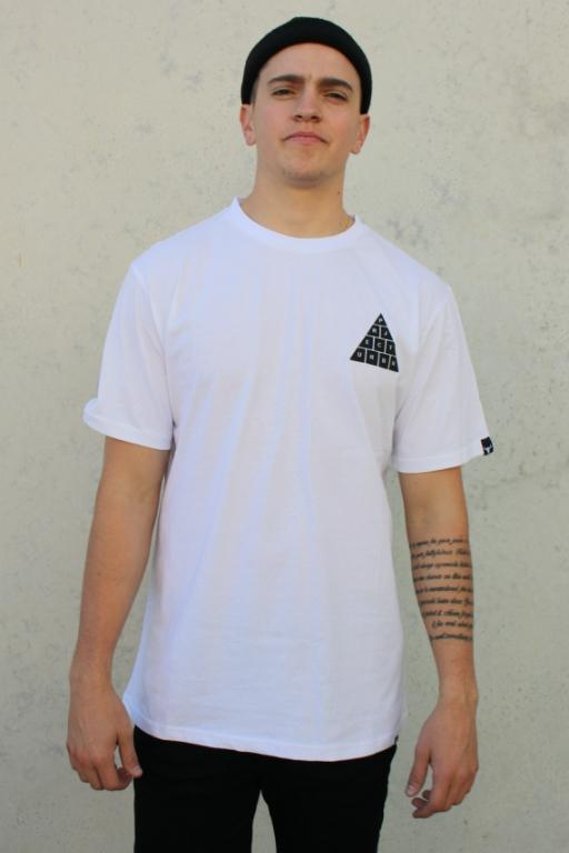 PROJECT URBAN - TRIANGULAR TEE WHITE 34072