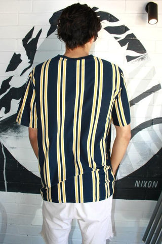 PROJECT URBAN - REFS TEE NAVY/YELLOW 34715