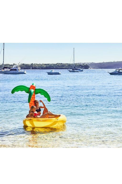 SUNNYLIFE - TWIN ROUND FLOAT TROPICAL ISLAND 32554