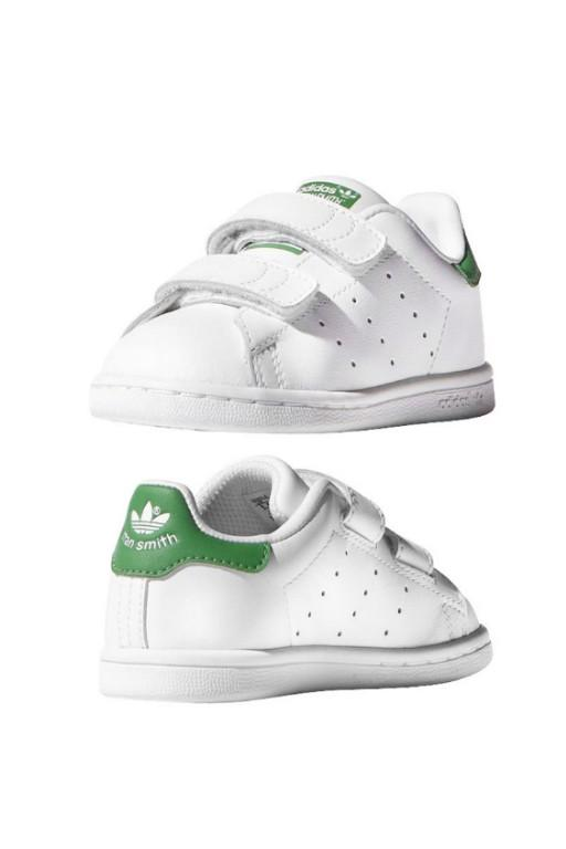 ADIDAS - STAN SMITH CF I WHITE/GREEN 32966