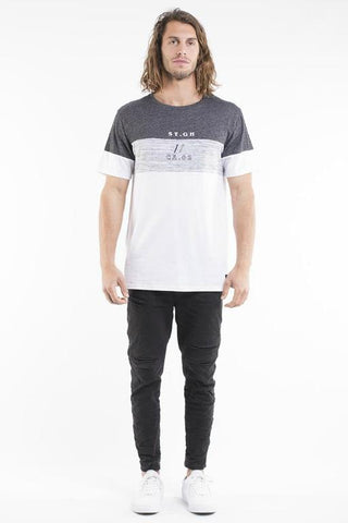 ST GOLIATH - JUST ACE TEE WHITE 34487