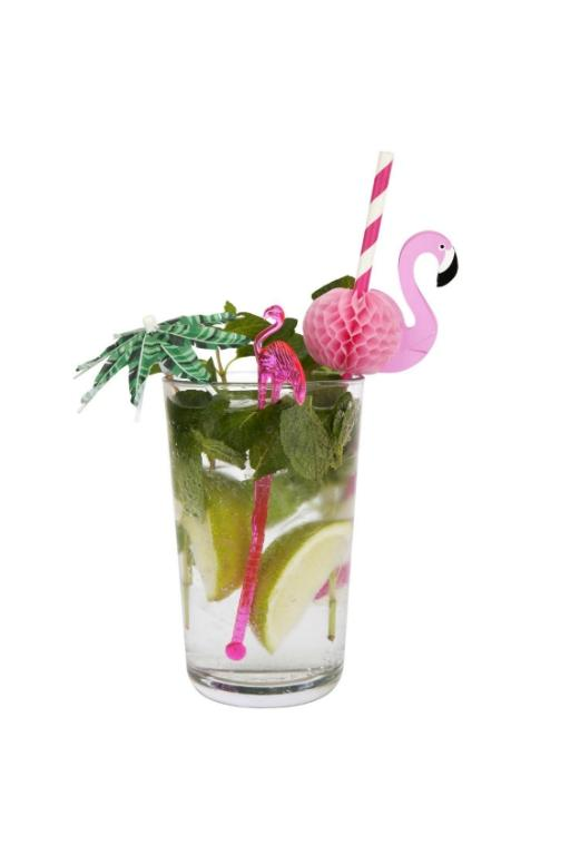 SUNNYLIFE - FLAMINGO COCKTAIL STIRRERS 32493