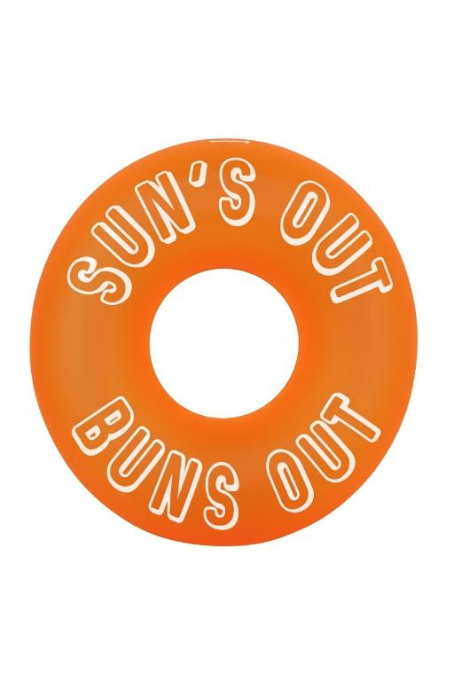 SUNNYLIFE - POOL RING NEON ORANGE 34359