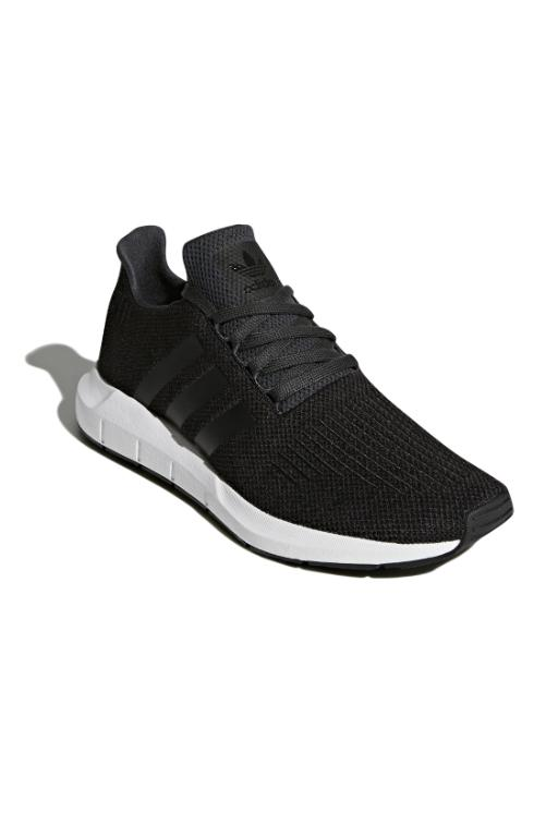 ADIDAS - SWIFT RUN CBLACK/CBLACK/WHITE 33787