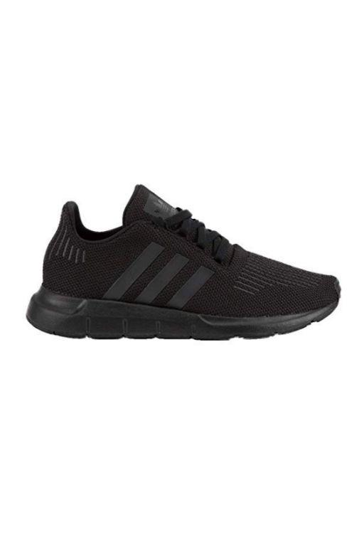 ADIDAS - SWIFT RUN JUNIOR CBLACK/CBLACK 33793