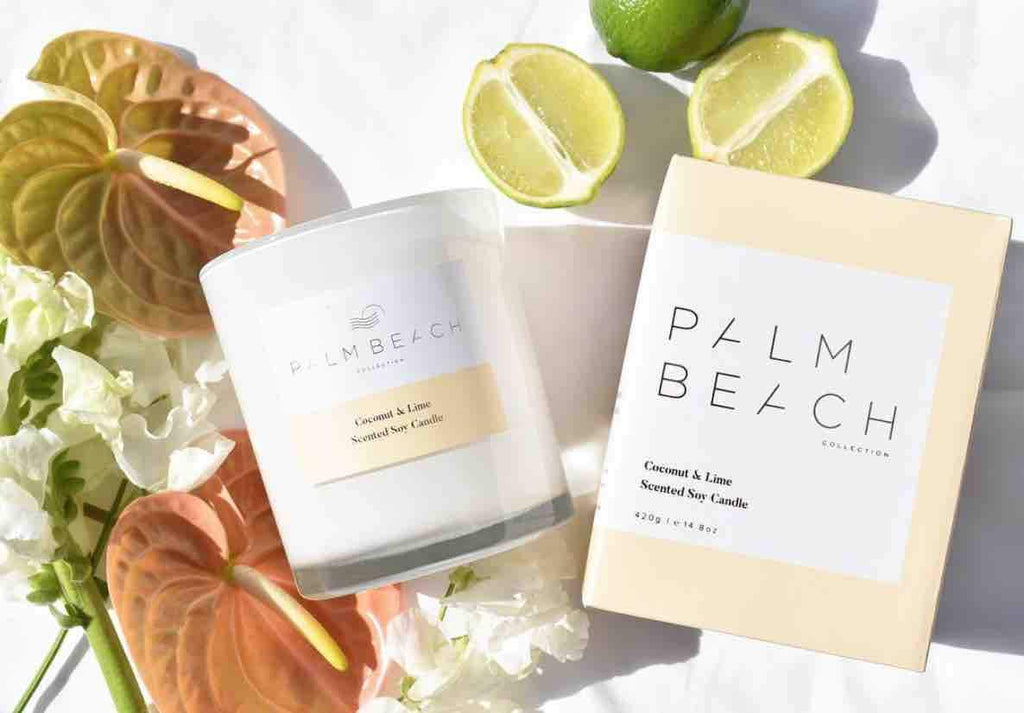 PALM BEACH COLLECTION - STANDARD CANDLE COCONUT & LIME 28088