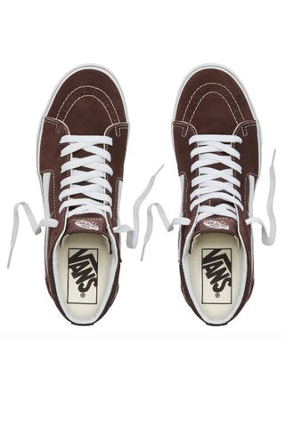 VANS - SK8 HI CHOCOLATE TORTE/TRUE WHITE BROWN 34368