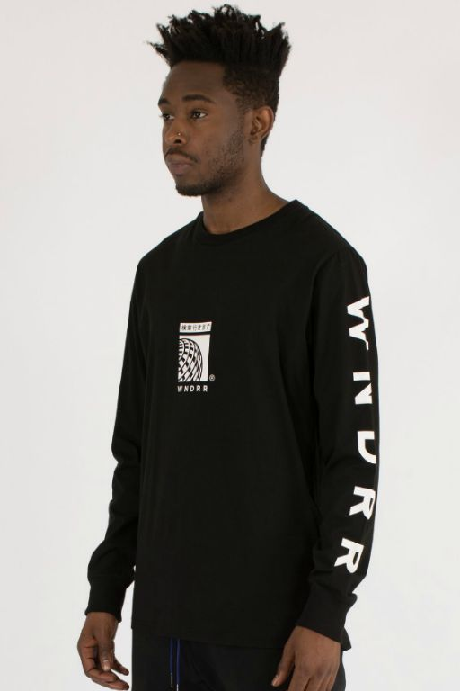 WNDRR - SHUTTLE LONG SLEEVE BLACK 34294
