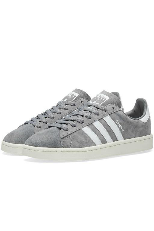 ADIDAS - CAMPUS GREY THREE/WHITE (GRWCW) 32038