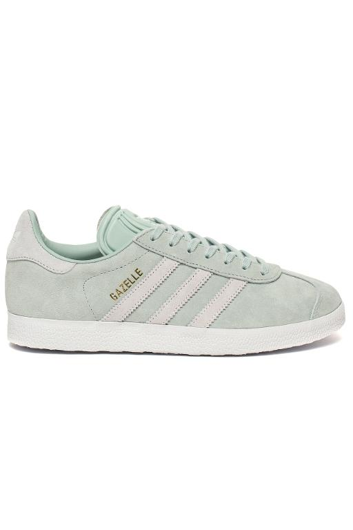 ADIDAS - WOMENS GAZELLE ASHGREEN/WHITE 32945