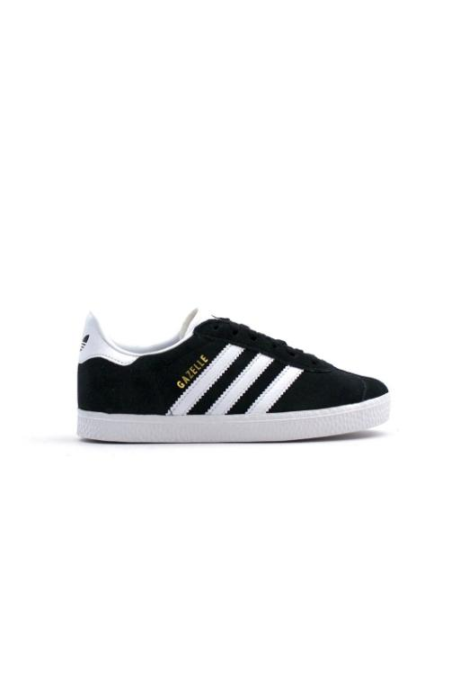 ADIDAS - GAZELLE CHILDREN CBLACK/WHITE 33770